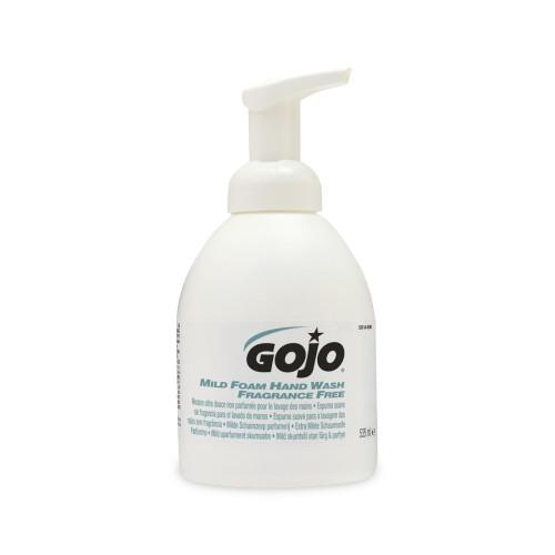 535ml Gojo Mild Foam Fragrance Free Foam Soap
