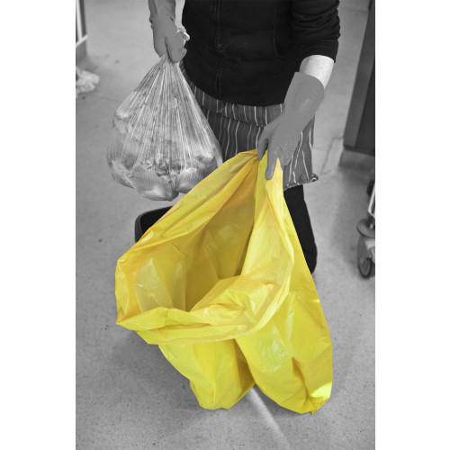 90L Yellow Waste Bags