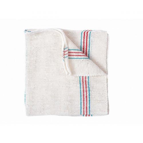 White floor cloth